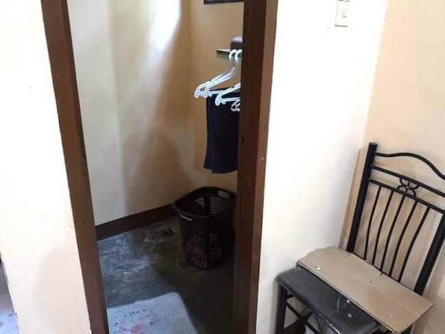 フィリピン田舎の家の洗濯場