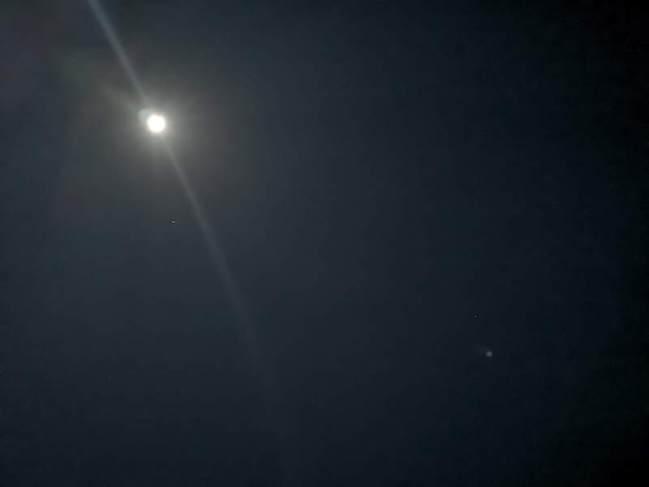 フィリピンでウルルン-ロンブロンの夜空