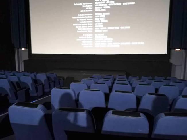 フィリピンの映画館の上映