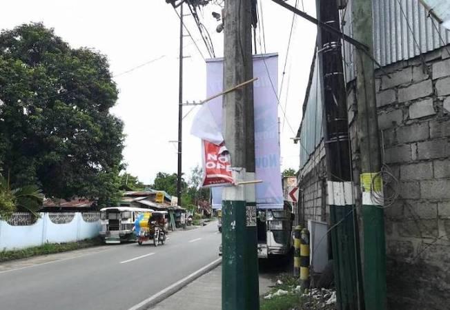 タピオカミルクティー屋の看板