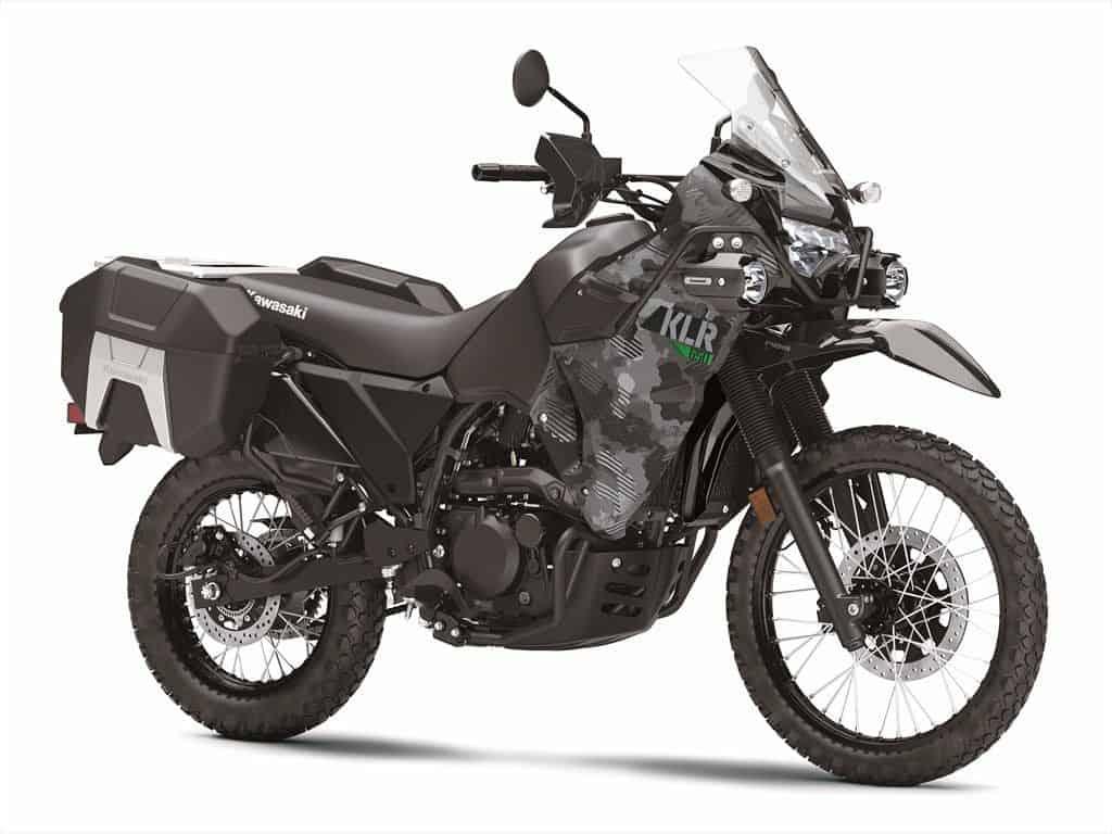 kawasaki klr 650 motorcycle 2022