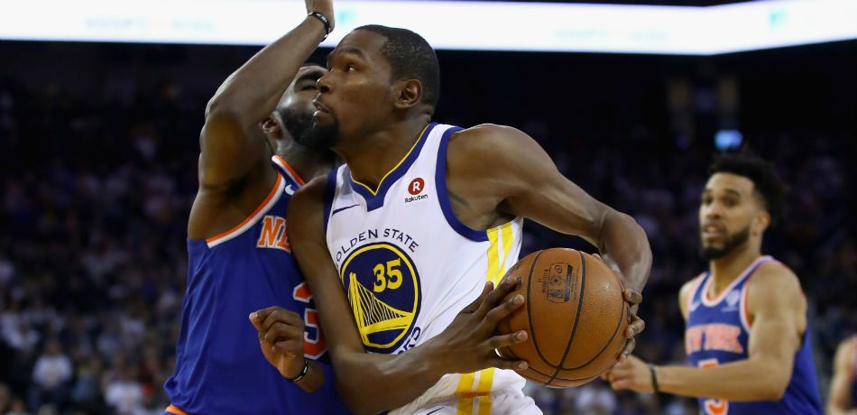 Kevin Durant vs. the Knicks