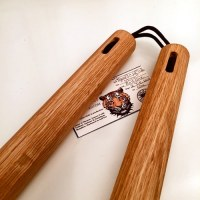 12 inch Red Oak Tapered Octagon Nunchaku