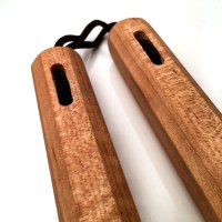 "12"" Curly Maple Nunchaku"