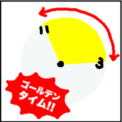 肝臓のゴールデンタイムを示したイラスト