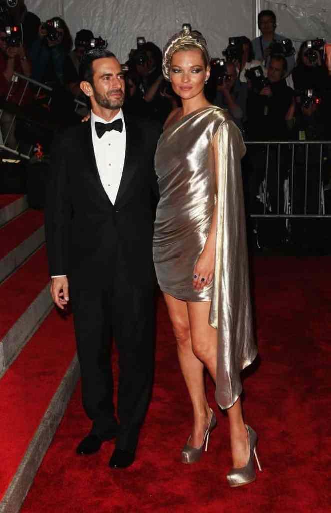 Кейт Мосс в платье Marc Jacobs