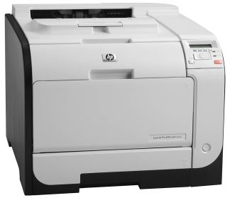 HP M451nw Color LaserJet Printer