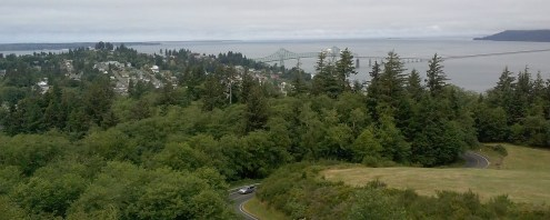 Astoria from above