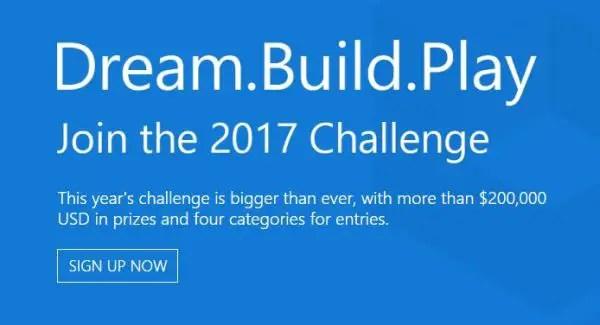 """Résultat de recherche d'images pour """"Microsoft Dream.Build.Play Challenge 2017"""""""