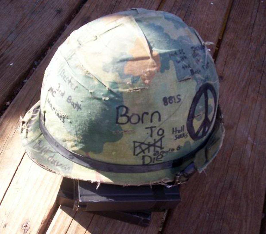 Helmet Graffiti My Vietnam Experience