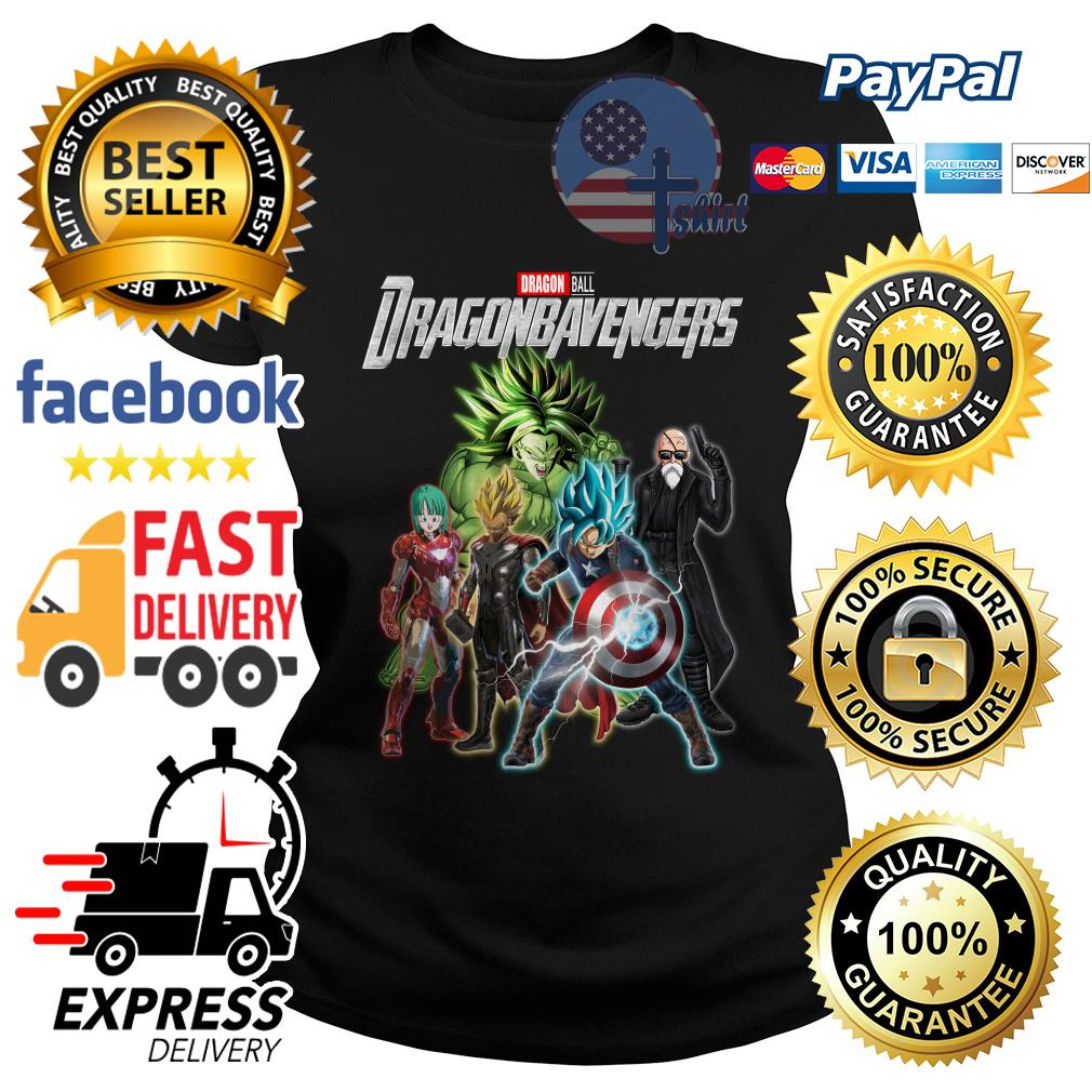 Dragon ball Dragonbavengers Avengers Endgame Ladies tee