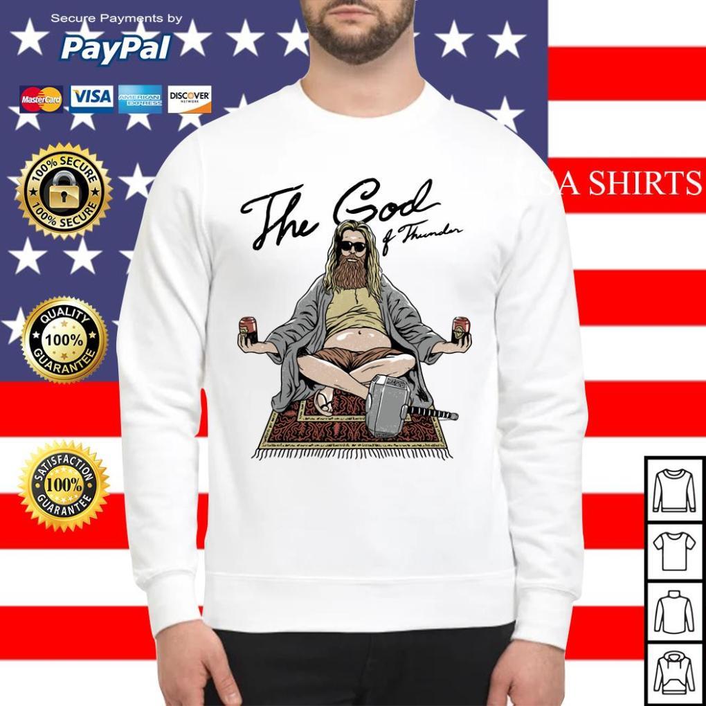 Fat Thor the God of thunder Avengers Sweater
