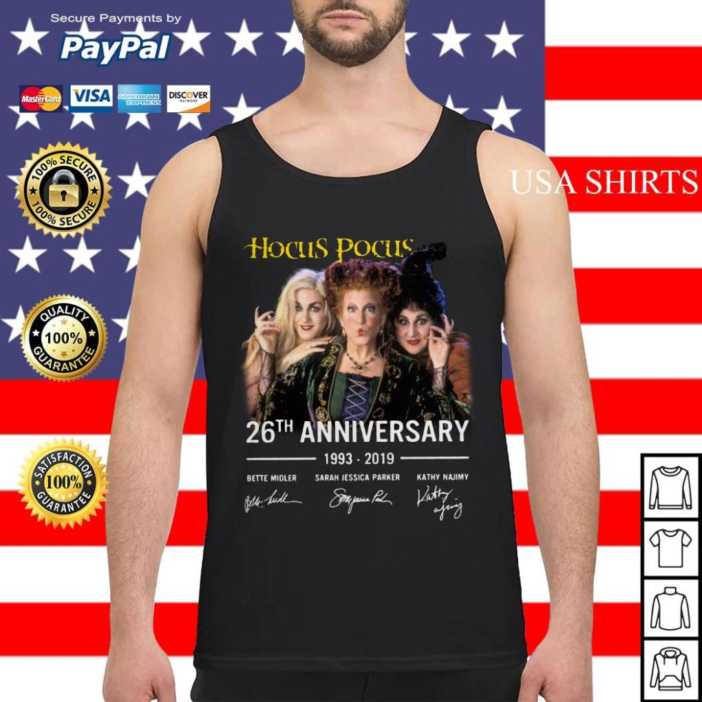 Hocus pocus 26th Anniversary 1993 2019 Bette Midler Tank top