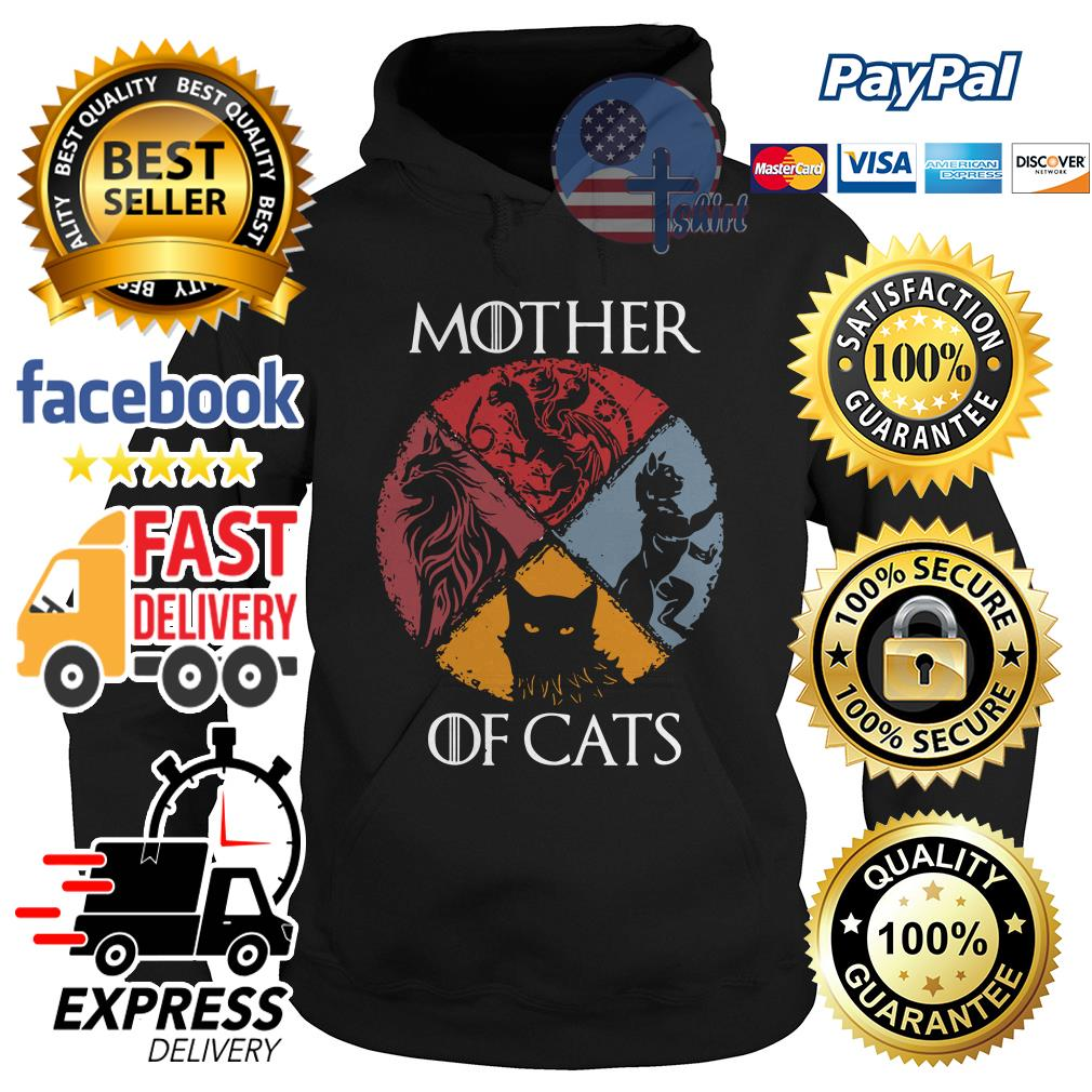 Official Mother of cats Game of Thrones Hoodie