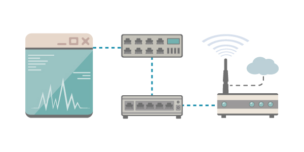 IoT Engineering for Modems, Switches, and Routers