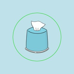 Do Use Clorox Wipes to Disinfect Cellular Routers
