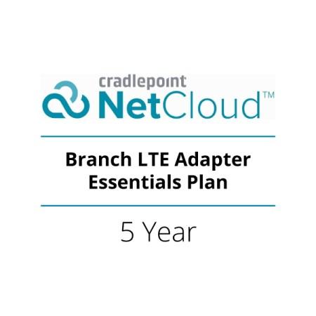 NetCloud Branch LTE Adapter Essentials Plan (5-Year) | BB5-NCESS