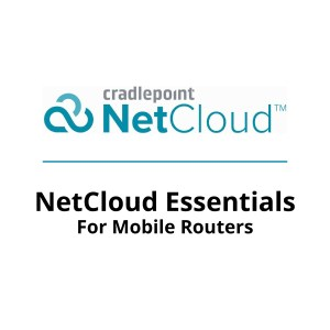 Cradlepoint NetCloud Mobile Essentials Plans
