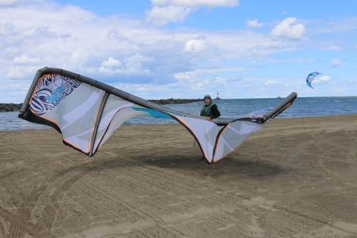 Kite Sailing - Lake Erie Near Sandusky, OH