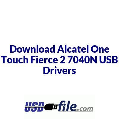 Alcatel One Touch Fierce 2 7040N