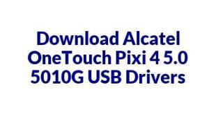 Alcatel OneTouch Pixi 4 5.0 5010G