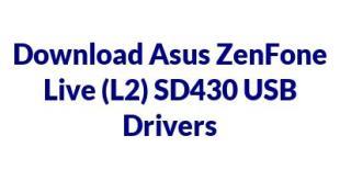Asus ZenFone Live (L2) SD430