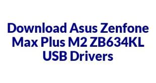 Asus Zenfone Max Plus M2 ZB634KL