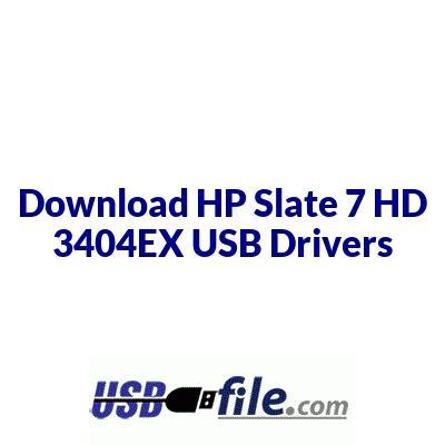 HP Slate 7 HD 3404EX
