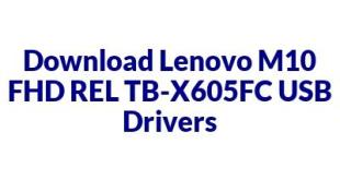 Lenovo M10 FHD REL TB-X605FC