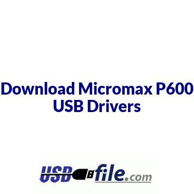 Micromax P600