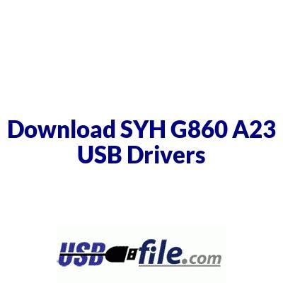 SYH G860 A23