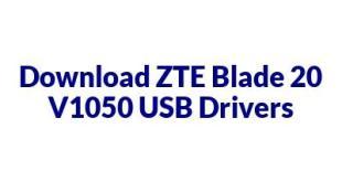 ZTE Blade 20 V1050