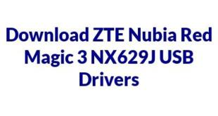 ZTE Nubia Red Magic 3 NX629J