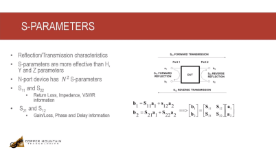 What are S-Parameter Measurements?