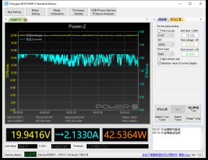 MacBook Pro 13-inch power meter