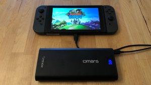 Omars PowerSurge 20000 45W USB-C PD with Nintendo Switch