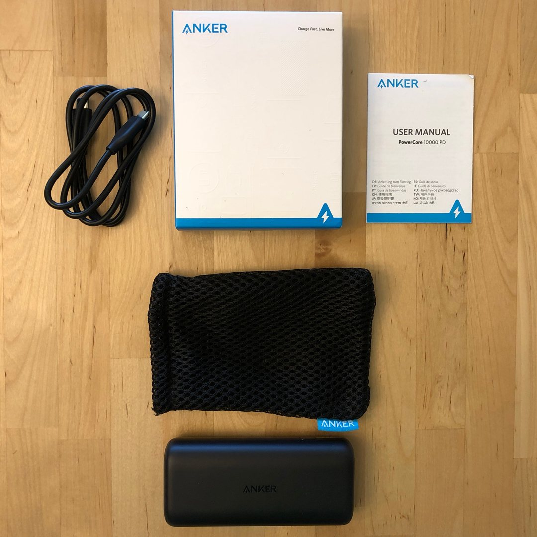 Anker PowerCore 10000 PD Review | USB-Current