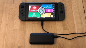 Anker PowerCore 10000 PD with Nintendo Switch
