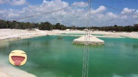 Mayan Wake Complex Cancun Mexico cable wake park 4