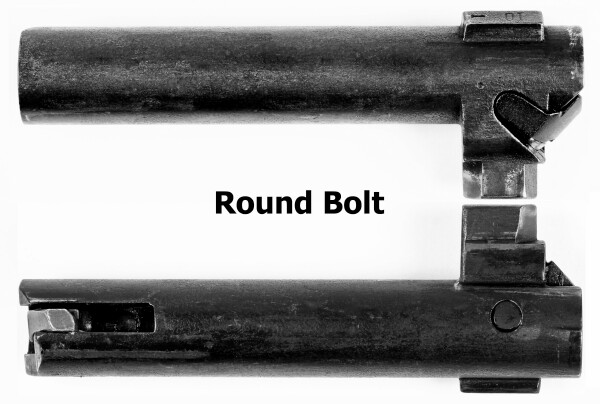 Later Introduced The Round Bolt Had Already Been In Use