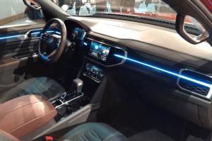 2020 VW Atlas Tanoak Interior