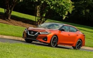 2021 Nissan Maxima Interior
