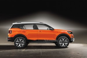2021 Ford Baby Bronco Interior