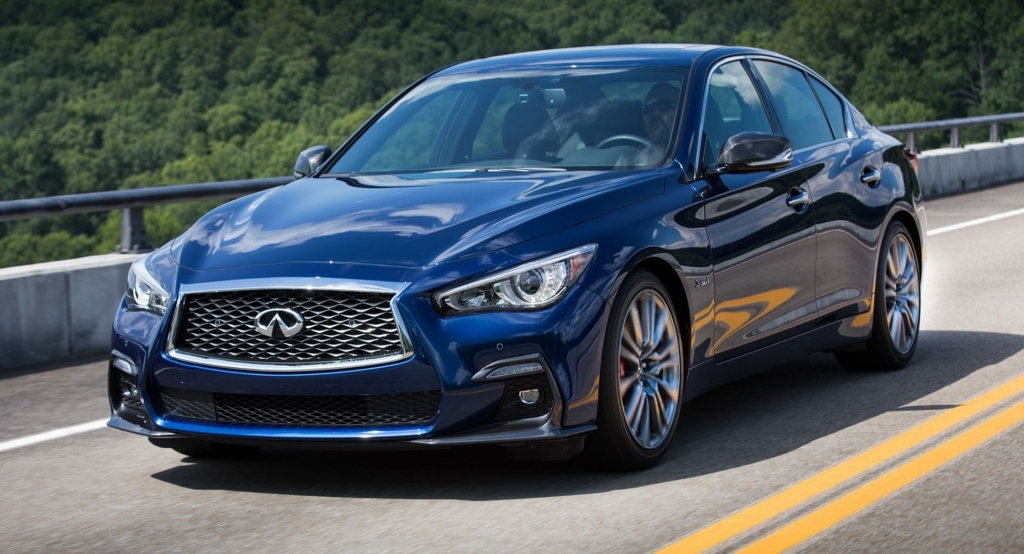 2021 Infiniti Q50 Spy Photos