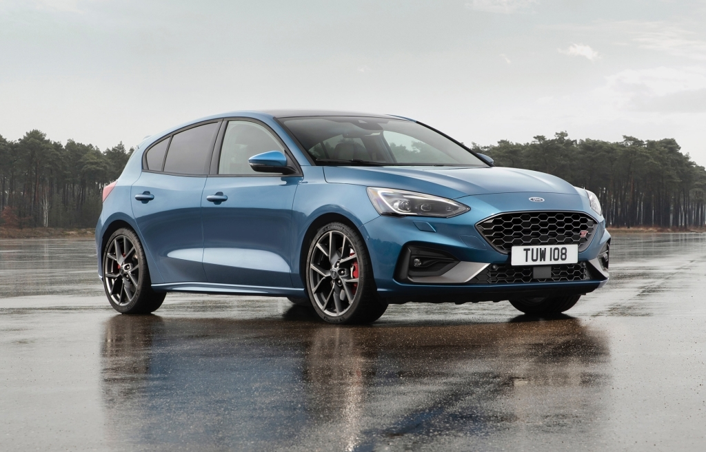 2021 Ford Focus RS Spy Shots