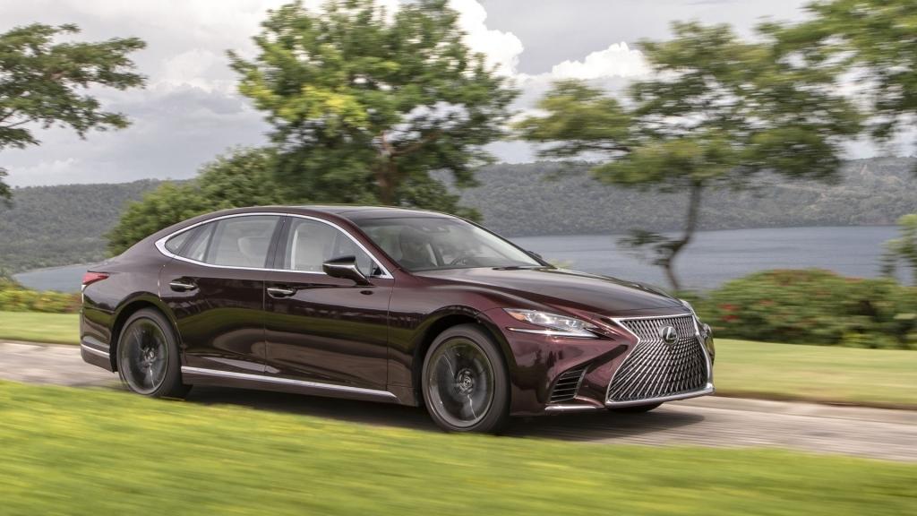 2021 Lexus LS Pictures