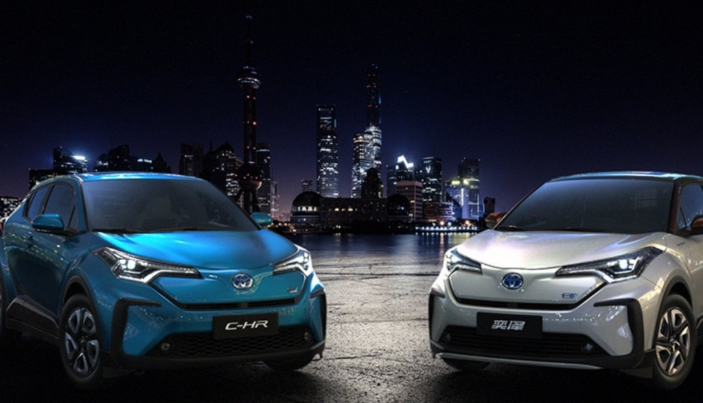 2021 Toyota CHR Spy Shots