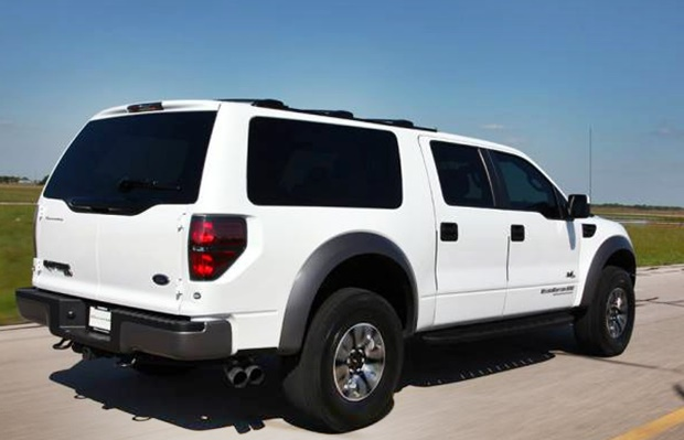 2017 Ford Excursion Rear View
