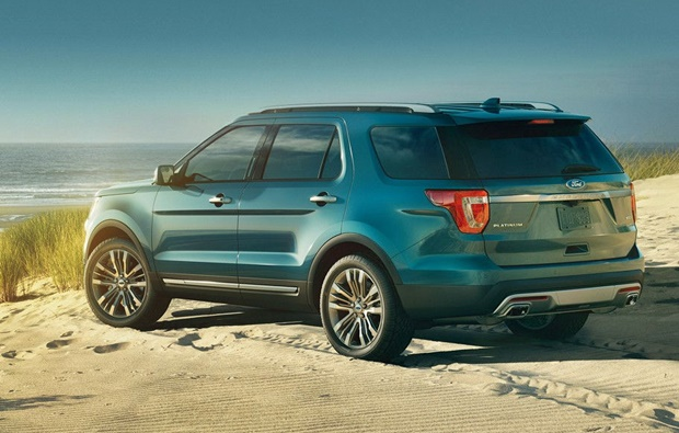 2018 Ford Explorer Rear View