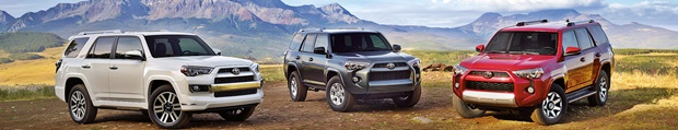 2019 Toyota 4Runner Colors